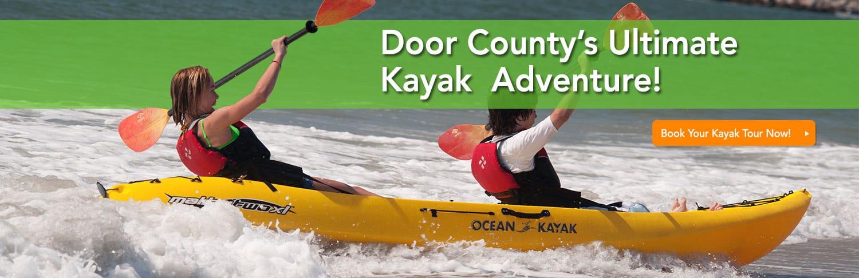 door county's ultimate kayak adventure